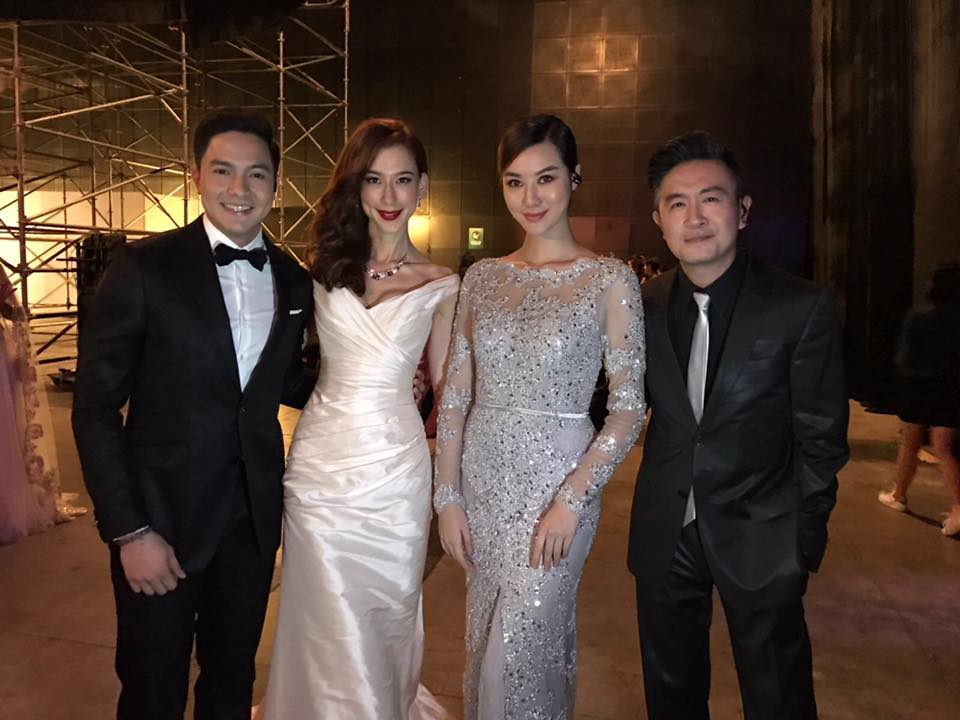 Hosts Adrian Pang, Stephanie Carrington, Alden Richards, Baki Zainal and Fiona Su