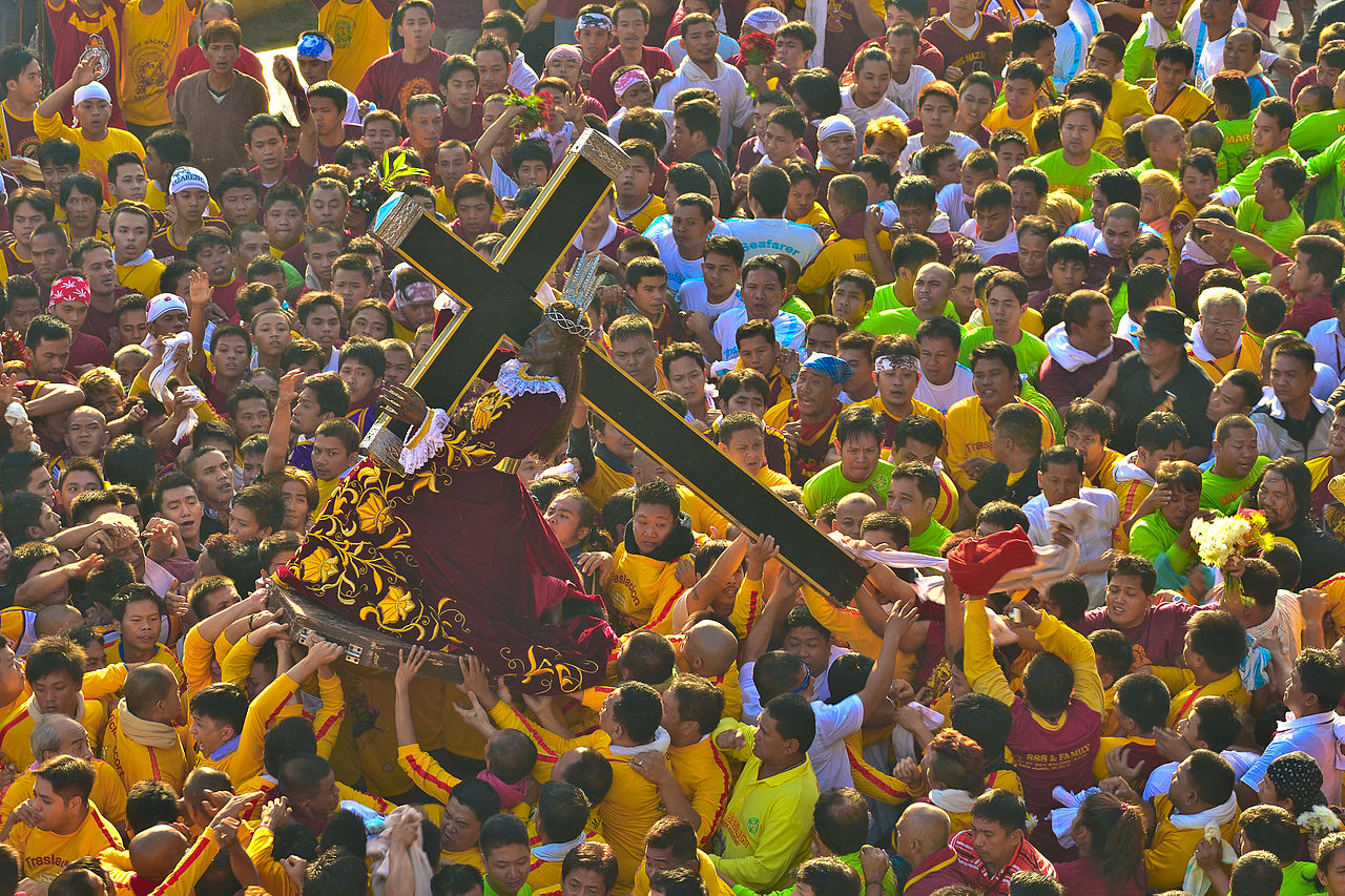 The Feast of Black Nazarene is a yearly celebration held every 9th of January. The barefooted devotees joined the procession from Quirino Grandstand to the Quiapo Church. Thousands of devotees flocks yearly to celebrate the occasion as a sign of their thanksgiving rites for all the blessings they received. (File Photo 2012)